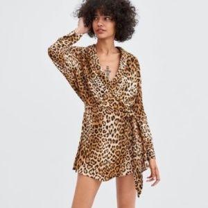 Leopard Zara Playsuit